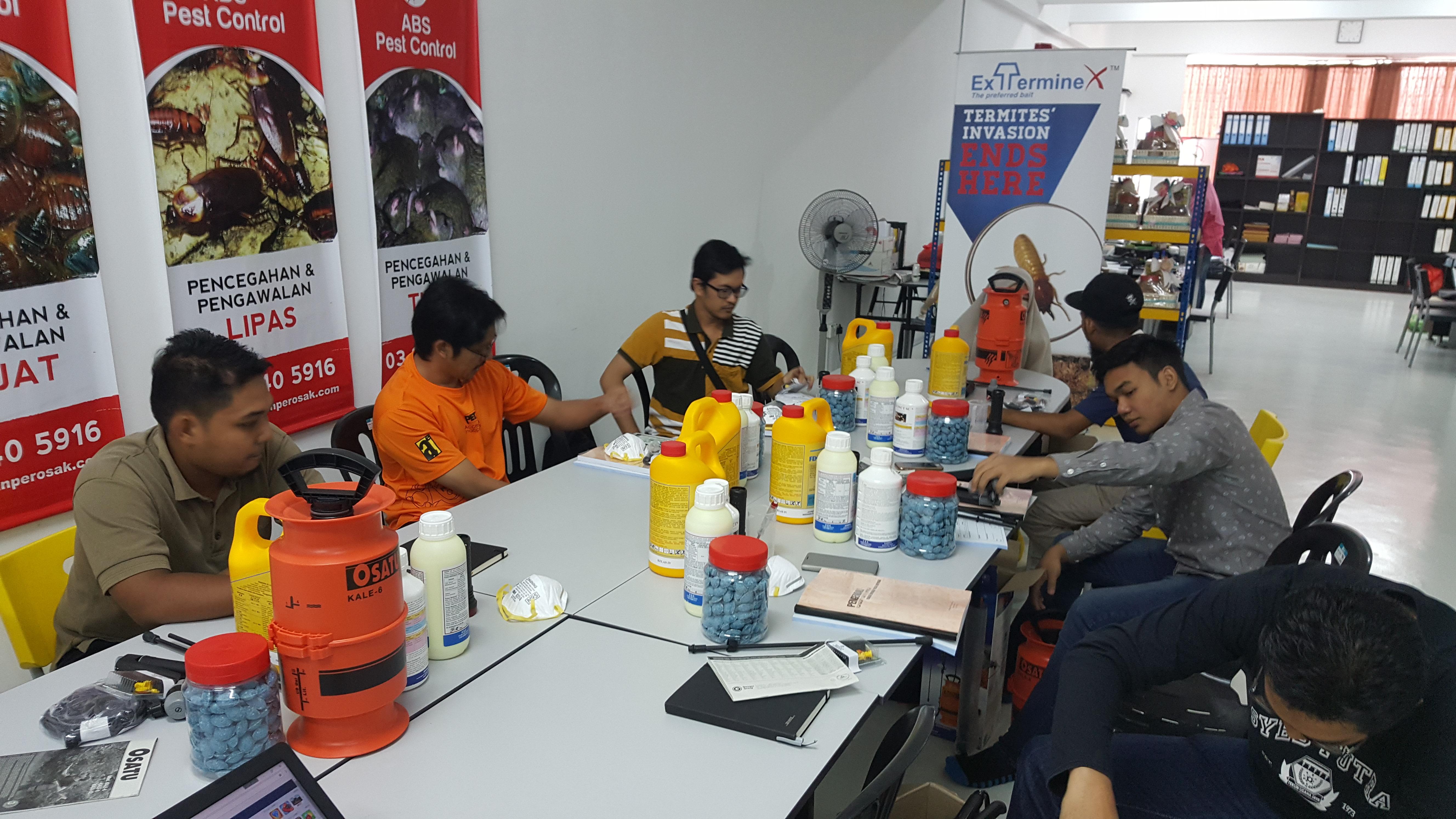 ALNASS Pest Control & Hygiene - Workshop Participant