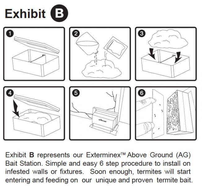 ALNASS Pest Control & Hygiene - Exterminex In Ground Monitoring Exhibit B