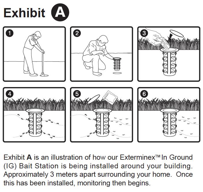 ALNASS Pest Control & Hygiene - Exterminex In Ground Monitoring Exhibit A