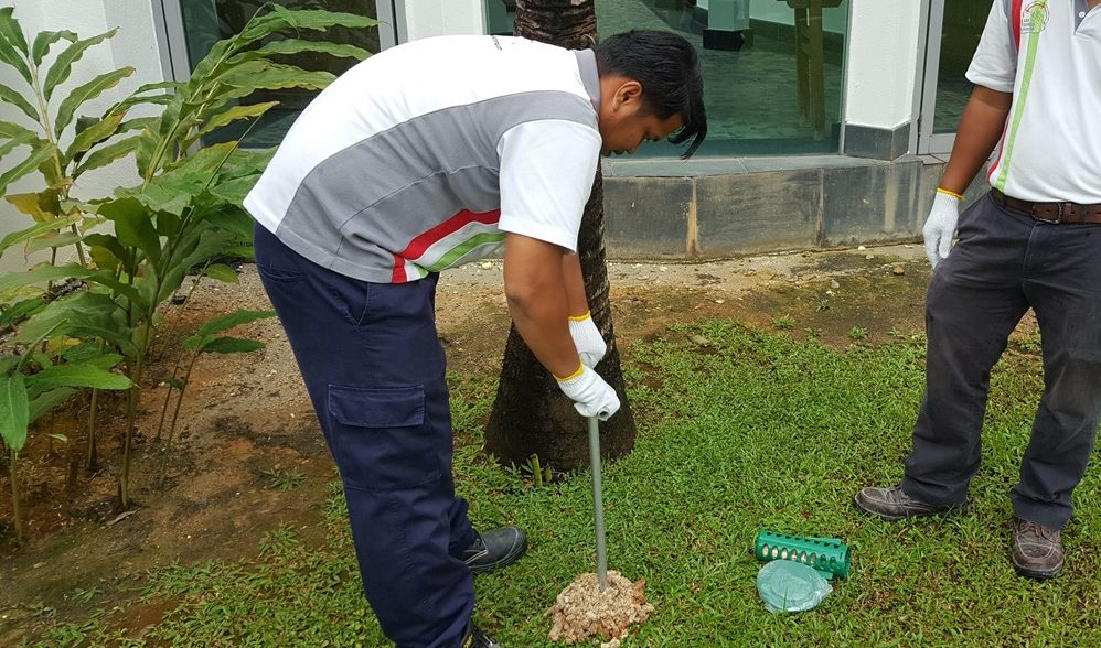 ALNASS Pest Control & Hygiene - Exterminex In Ground Monitoring Drilling